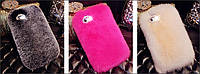 Чехол-накладка для iPhone 6/6 plus/7/7plus/8/8plus Натуральный мех