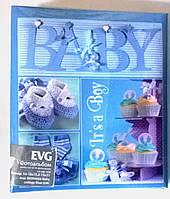 Детский фотоальбом EVG 10x15x56 для мальчиков синий