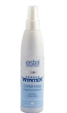 Эстель Спрей-уход «Защита и питание» с антистатическим эффектом Estel Versus Winter