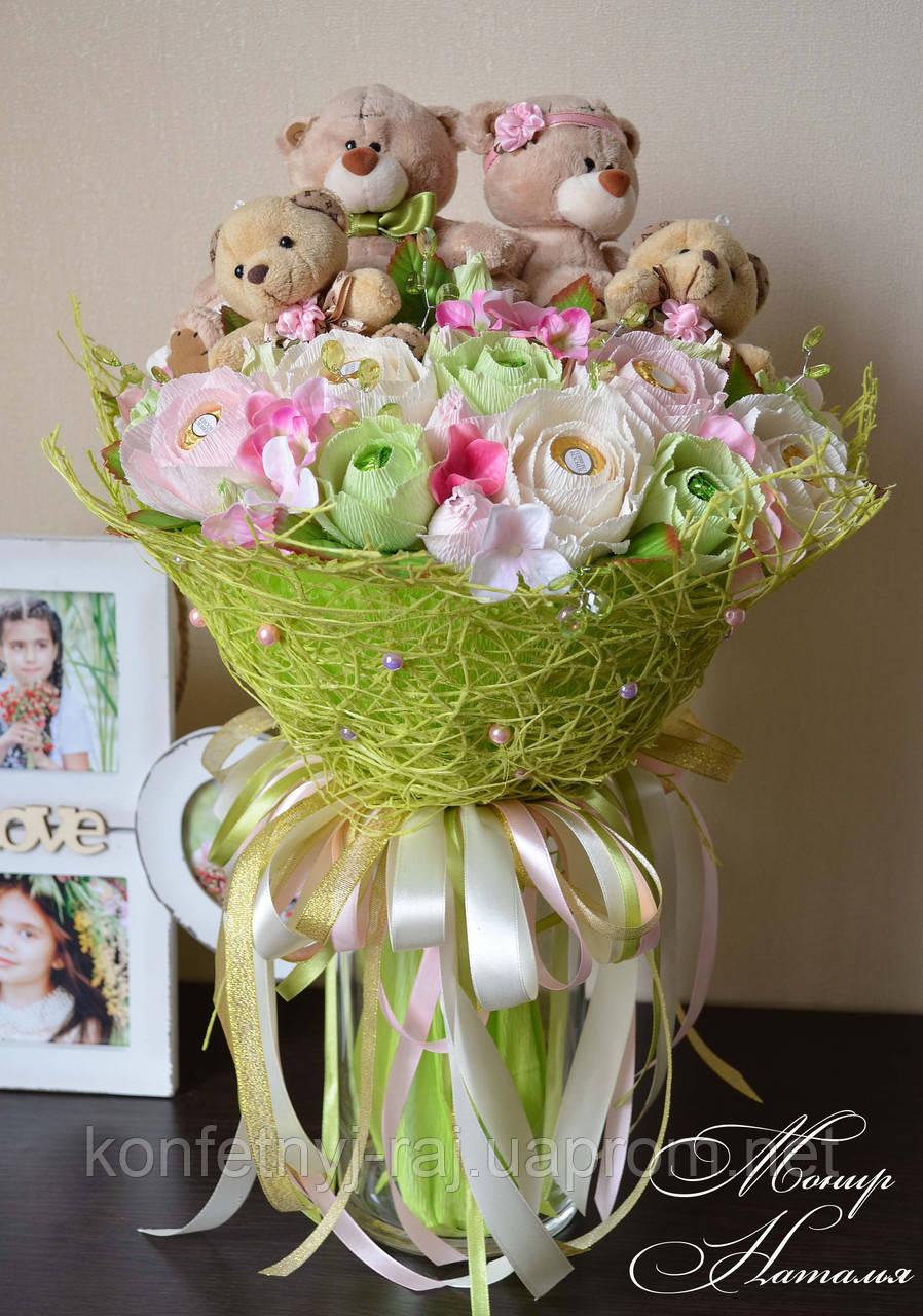 Горшечные цветы на свадьбе
