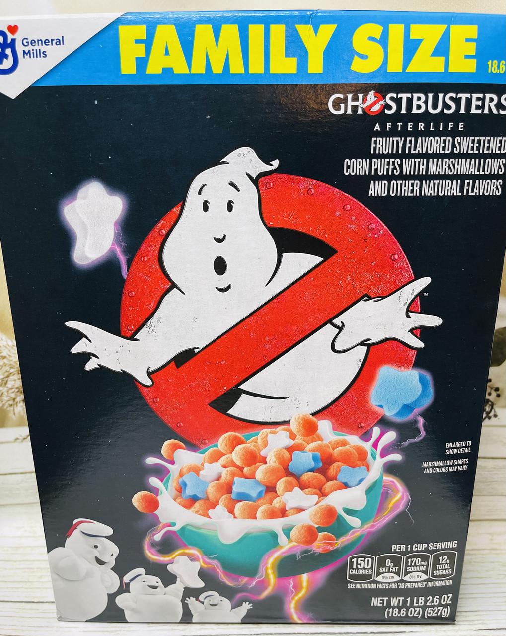 Сухой завтрак с маршмэллоу Ghostbusters Охотнкики за привидениями