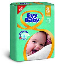 Подгузники детские Evy babymini elastic twin 2 (3-6 кг) 54 шт