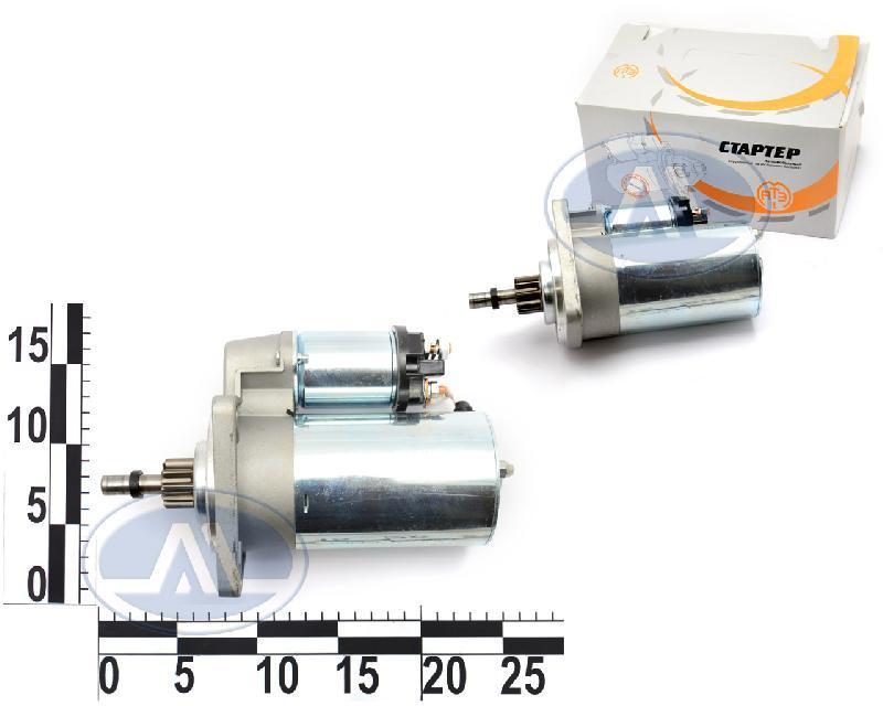 Стартер ВАЗ 2108-15, редукторний, 3 шпильки, 9 зуб на постійних магнітах, аналог 5712.370, 12В, 1,55кВт АТЕ-1