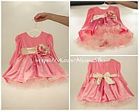 """Нарядное платье """"Розовая зефирка"""", фото 1"""