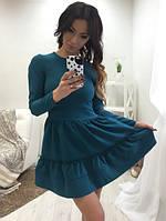 Платье с подъюбником 793 НС