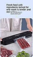 Вакуумный упаковщик вакууматор бытовой для пищи аппарат для вакуумной упаковки продуктов ZOOSEN ZSW-Z08 NEW!