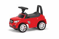Детская машина-толокар MB  2-001  со спинкой (Красный)