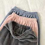 Женская пижама, двухсторонняя махра, р-р 42-44; 44-46 (пудра), фото 3