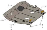 Защита картера двигателя и кпп Nissan Sentra 2014- с установкой! Киев, фото 4