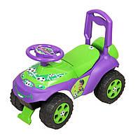 Детский толокар Машинка 0141/02 фиолетовый