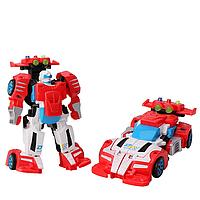 Дитячий трансформер D622-H05 робот+машинка (Червоно-Білий)