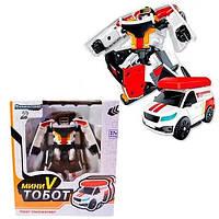 Дитячий тобот-Трансформер 888-1T робот+транспорт