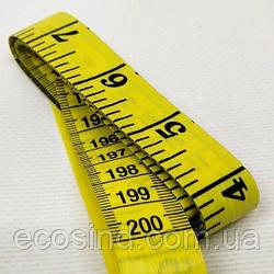 Сантиметр Швейный (дюймы + сантиметры)  длина 2м. (653-Т-0454/1)