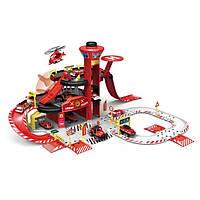 Іграшковий паркінг Спецслужби 660-A1/2 з машинками (Пожежні служби)