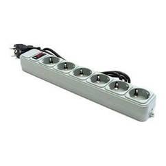 Фильтр питания Gembird Power Cube 6 розеток 1,8м серый (SPG6-G-6G)