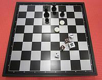 Набор 3 в 1 шахматы, шашки, нарды. (Китай)
