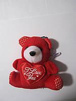 Мягкая игрушка Медвежонок на подвеске с присоской