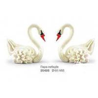"""Набор """"Пара лебедей"""" h65мм Украса  - 01918"""