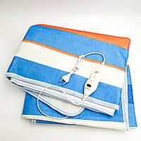 Электропростынь электро грелка электрическая простынь одеяло с сумкой electric blanket 120*150 см 86Вт UKC