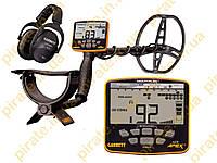 """Металлоискатель Garrett ACE Apex с катушкой Raider 8.5x11"""" (21,5 х 28 см) и беспроводными наушниками MS3"""