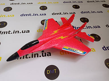 Літак на радіоуправлінні, модель винищувач MI-29 Червоний