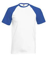 Мужская футболка двухцветная 026-AW