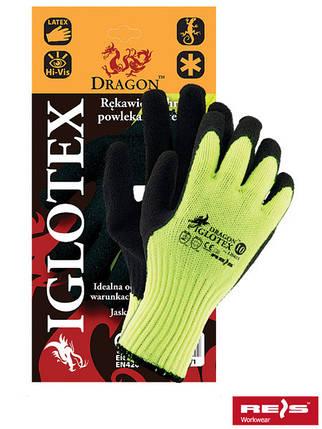 Защитные утепленные проклеенные перчатки IGLOTEX YB, фото 2