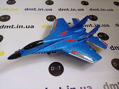 Літак на радіоуправлінні, модель винищувач MI-29 Синій