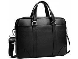 Чоловіча сумка шкіряна Keizer K19156-1-black