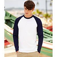 Мужская футболка с длинным рукавом 028-WЕ