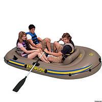 Надувная лодка Excursion 3 Set Intex 68319 разм. 262х157x42 см
