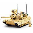 Конструктор Танк Abrams M1A2 армии США Sluban M38-B0892, 781 деталь, фото 5