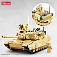 Конструктор Танк Abrams M1A2 армии США Sluban M38-B0892, 781 деталь, фото 3