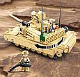 Конструктор Танк Abrams M1A2 армии США Sluban M38-B0892, 781 деталь, фото 4