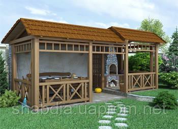 Установка декоративных элементов: пергола, навес, мостик, беседка, керамические изделия, фото 2
