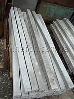 Столбик бетонный для забора угловой 100х100 2,5м