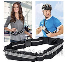 Спортивний органайзер з кишенями Go Belt / Belt for Running / ART-0444 (500шт)
