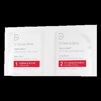 Салфетки для пилинга с АНА и ВНА-кислотами Dr. Dennis Gross Skincare Alpha Beta Peel Extra Strength 1 шт