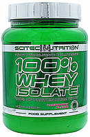 100% Whey Isolate Scitec Nutrition, 700 грамм