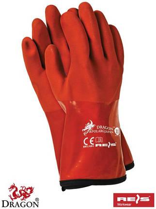 Защитные термоизолирующие перчатки из ПВХ RPOLARGJAPAN, фото 2