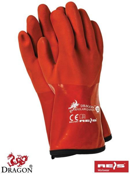 Защитные термоизолирующие перчатки из ПВХ RPOLARGJAPAN