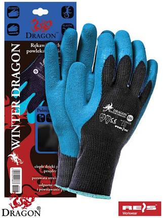 Защитные утепленные рукавицы с дополнительным покрытием RWD BN, фото 2