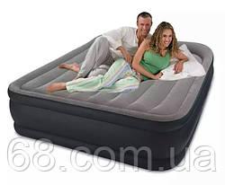 Надувний матрац ліжко з вбудованим електронасосом Intex 64136 p