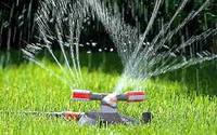 Устройство систем полива и водоотвода