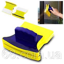 Магнітна щітка для миття скла з двох сторін одночасно p