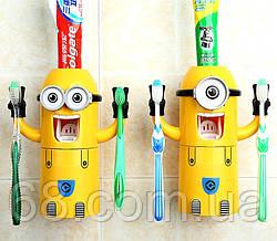 Автоматичний дозатор зубної пасти Міньйон p