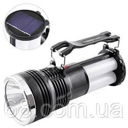 Фонарик аккумуляторный с солнечной панелью YJ-2881T p