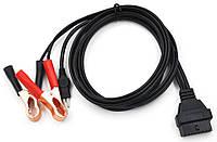 """Кабель питания """"крокодил"""" для Lexia3 PPS2000 Power кабель OBD2 крокодилы 16 pin переходник"""