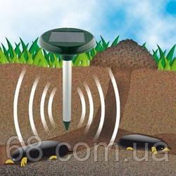 Відлякувач гризунів кротів мишей мух на сонячній батареї ультразвук p