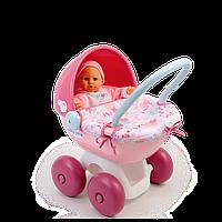 Оригинал. Коляска с люлькой для куклы Baby Nurse Smoby 24668